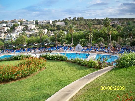 Insotel Cala Mandia Resort & Spa: aussicht von unserem zimmer