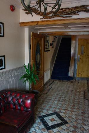 The Bantry Bay: Entrance and stairs to the upper floors