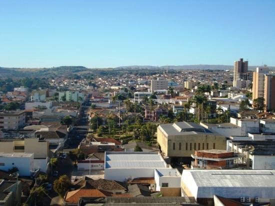 Araxá, MG: Vista do terraço