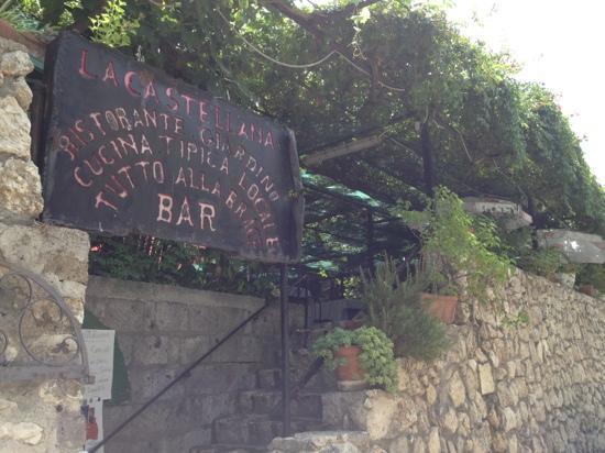 La Castellana: Giardino fresco