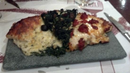 Tres i no res: 3 porciones de pizza.