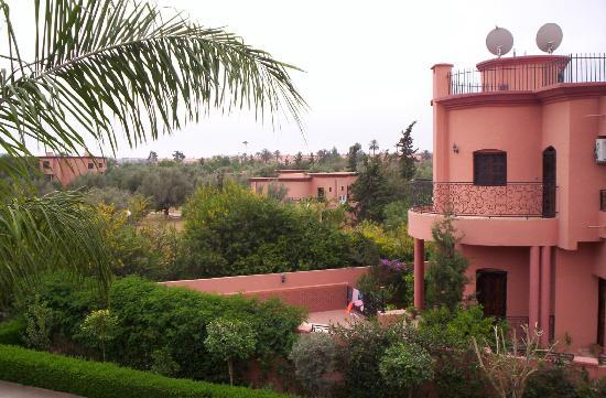 Villa Latifa: Beautiful view from room