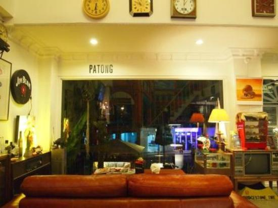 Chicboutique Hotel: the looby/cafe