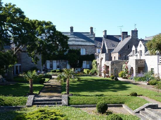 Hotel le Conquerant : le jardin