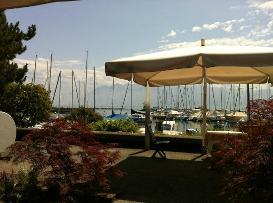 Le Restaurant du Port : Depuis la terrasse...