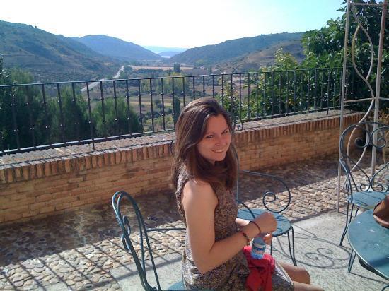 Convento del Carmen de Pastrana: A terrace with beautiful views