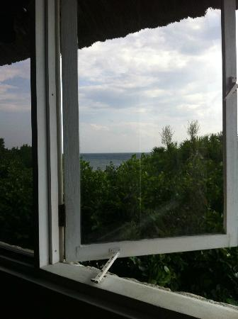 The Blue Orchid Resort: view from the honeymoon suite's rocking chair