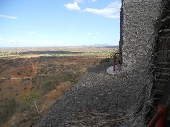 Zomeni Lion Hill Lodge: vista dal balcone