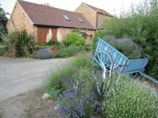 Glebe Farm Cottages: Garden