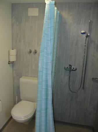 Lago Lodge: Ducha en baño adaptado