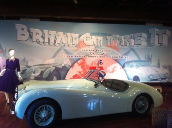 Larz Anderson Auto Museum - Museum of Transportation: Britain Can Make It