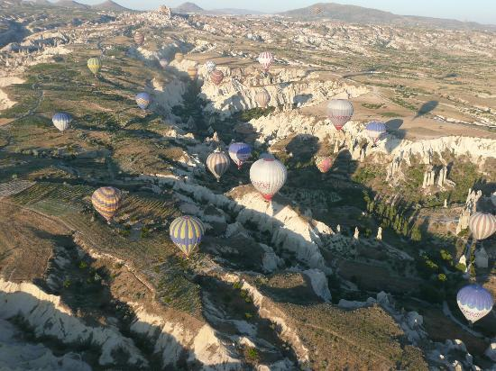 TTC Day Tours, Istanbul : fantastic balloon flight from Goreme
