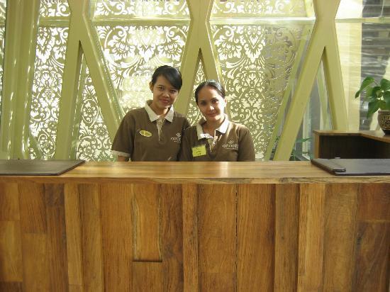 Ananta Legian Hotel: 2. Hotel Reception