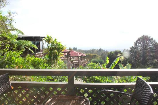 The Kula Lodge: View from Ekahi chalet