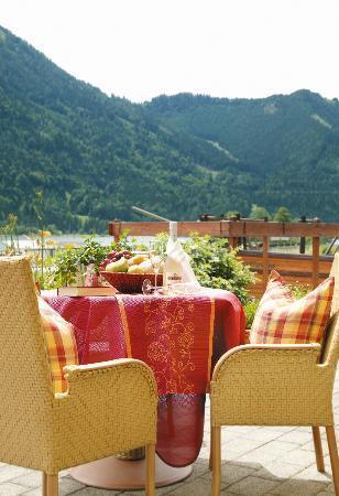 Kinderhotel Buchau: Terrasse