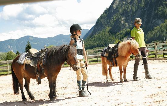 Kinderhotel Buchau: Reiten