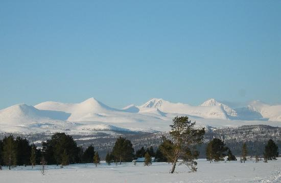Hollandsk Gjestehus: National park Rondane offers hundreds kilometers of cross country tracks.