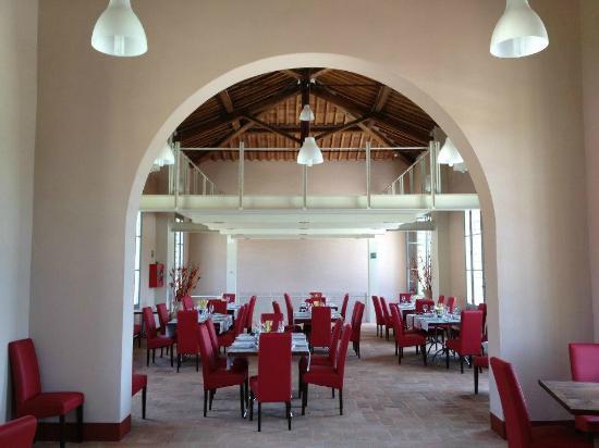 Hotel Antica Tabaccaia: La sala superiore del Ristorante