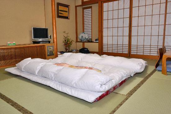 letti futon kaneyoshi ryokan