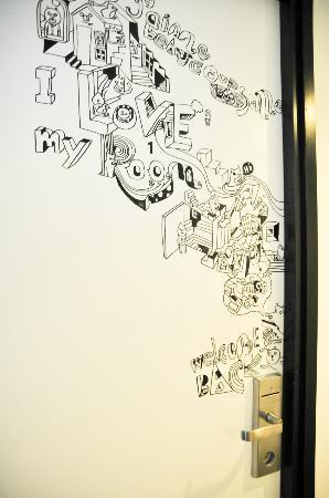 Door Decoration Drawing