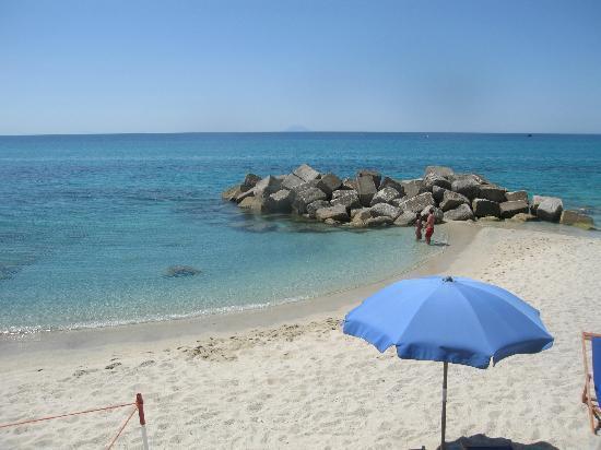 Villaggio Tramonto: Panorama dalle spiaggette