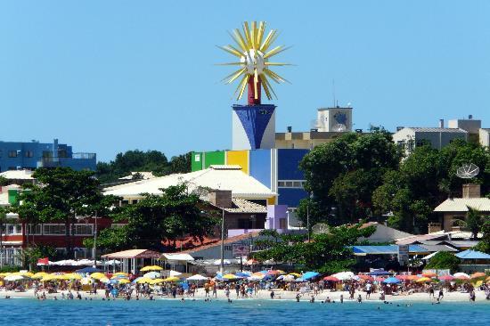 Cabanas Bahia Do Sonho: Hotel do farol playa de Bombinhas