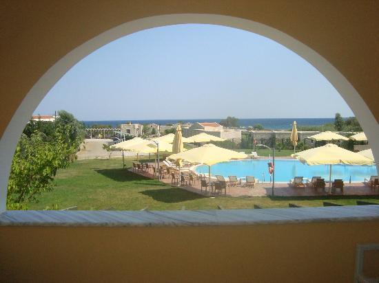 Aktaion Resort: Θέα