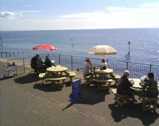 East Cliff Cafe: Enjoy the view