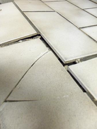 San-a-bel: Kitchen flooring.