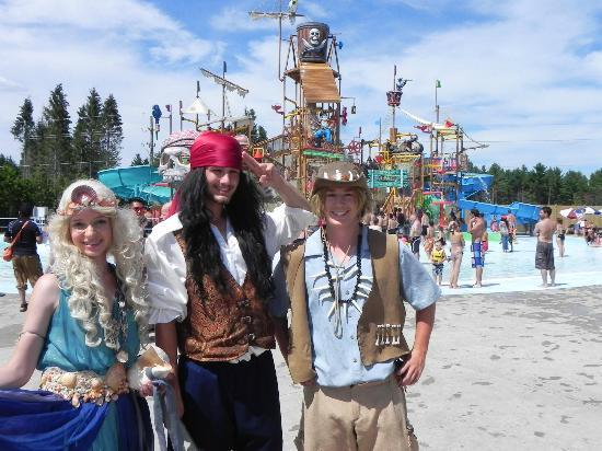 Ontario, Kanada: PIRATE'S AQUAPLAY