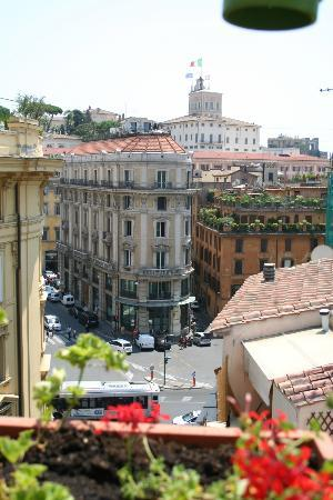 La Fenice: Terrace view