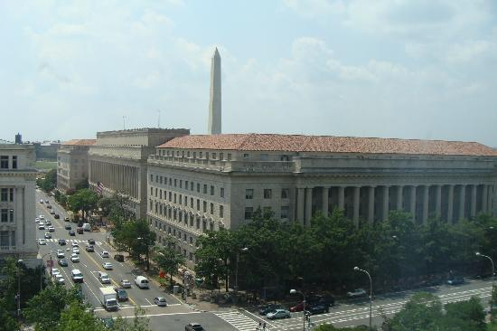 View from hotel room Picture of JW Marriott Washington DC