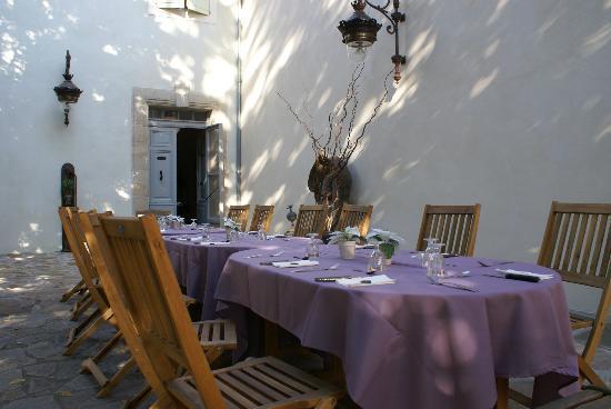 Maison Bersane : Table d'hôtes