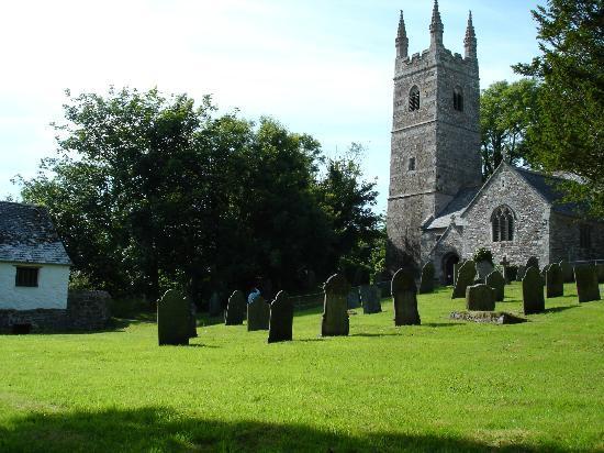 The Gildhouse, Poundstock: St Winwaloe's Church and Gildhouse