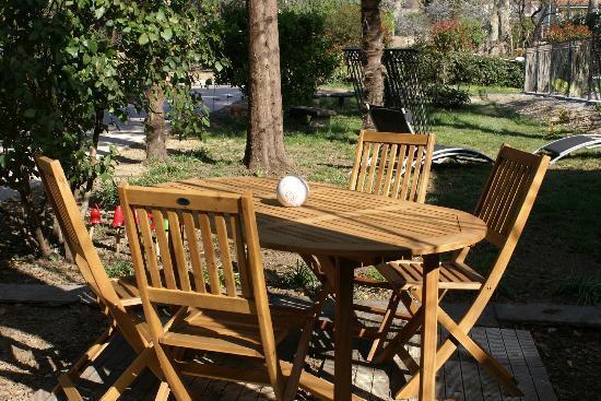 Maison Bersane : Le Jardin
