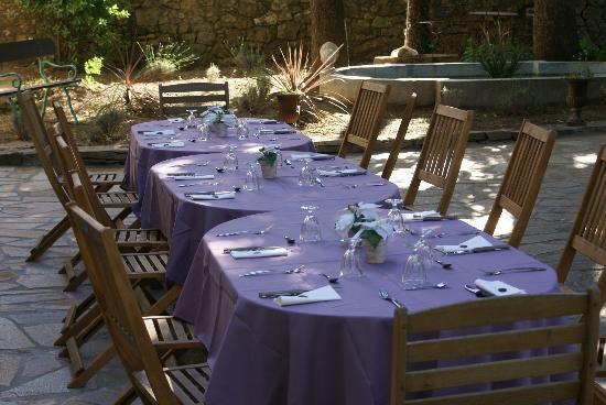 Maison Bersane: Table d'hôtes