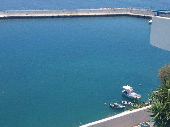 Palazzo Greco: a part of the port from the balcony