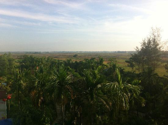 Phu Thinh Boutique Resort & Spa: vue depuis la chambre