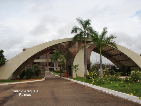 Araguaia Palace: Portal de acesso ao Palácio Araguaia