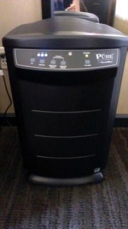 Hotel 43: Air Purifier in the room