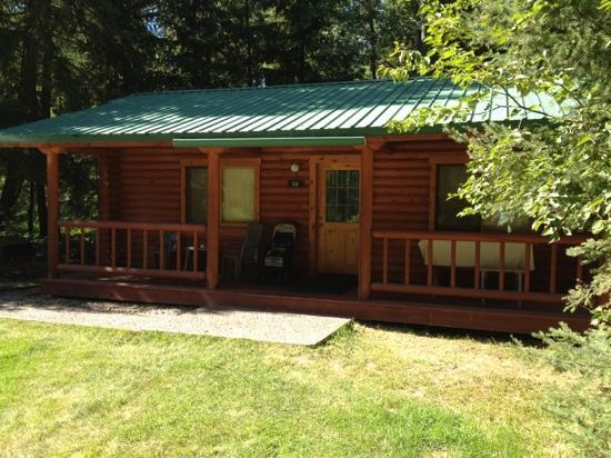 North Forty Resort: cabin #12