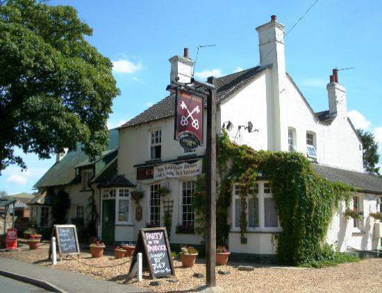 Хантингдон, UK: Cross Keys, Upwood, Cambridgeshire