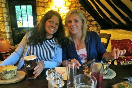 The Weighbridge Inn: Two very satisfied guests