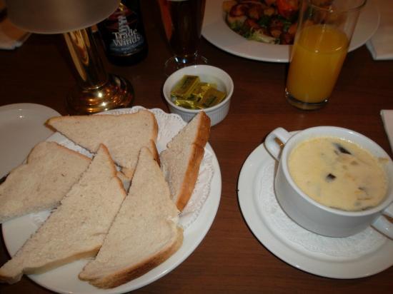 Eilean Dubh Restaurant: Soupe maison