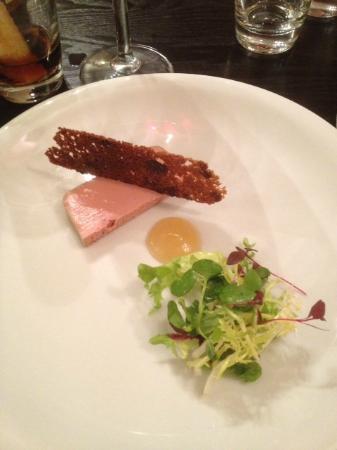 NomisRestaurant: Chicken liver terrine (I think)