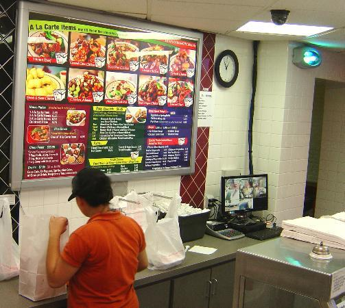 House Of China: Takeout Fast Food Section