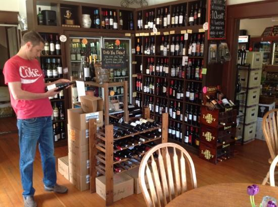 Brewster's Fine Foods: Pick your own wine or craft beer from the shop when dining. A reasonable corkage is added makin