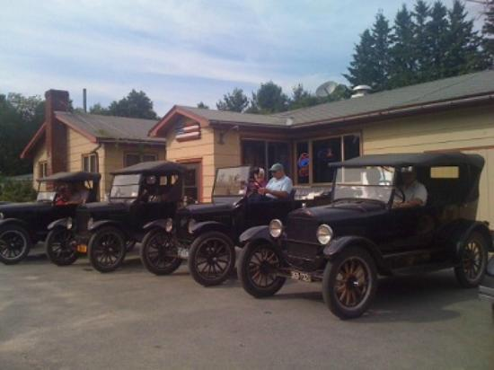 Cranberry Lake, NY: Classic car show
