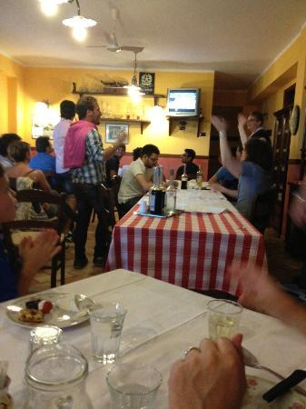 Agriturismo L'Uliveto : Watching Italy play in the Euro Cup