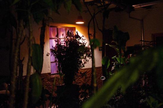 Hostal Villa Del Rosario : Patio